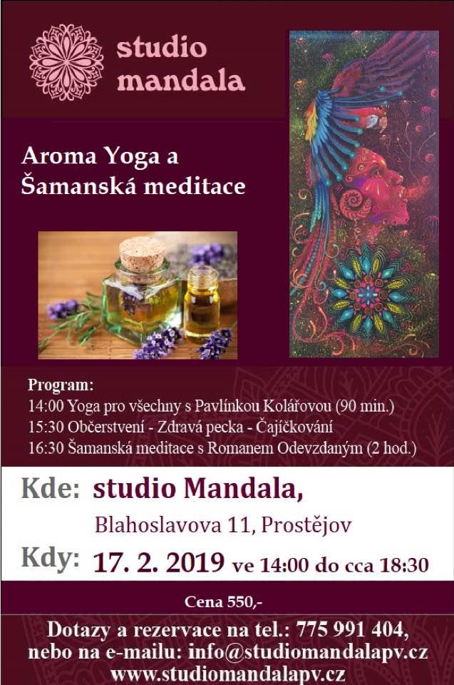 Aroma yoga a Šamanská meditace